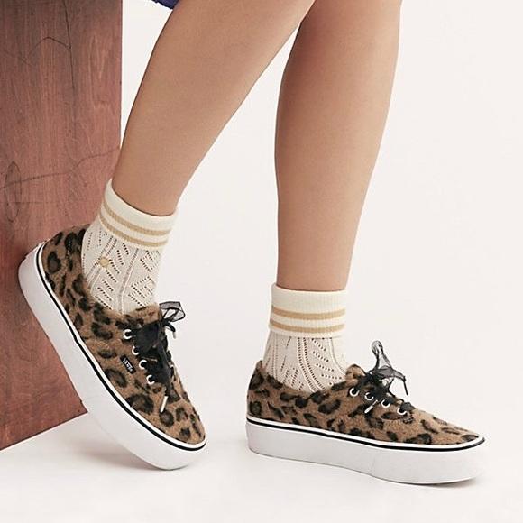 Vans Shoes | Authentic Platform Fuzzy